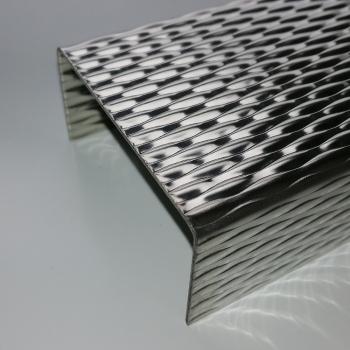 sg designbleche gmbh onlineshop alu winkel riffelblech duett 1 5 2 0mm stark. Black Bedroom Furniture Sets. Home Design Ideas