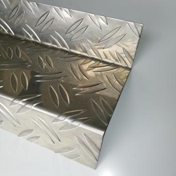 sg designbleche gmbh onlineshop z profil aus alu riffelblech duett 2 5 4 0 mm stufenprofil z. Black Bedroom Furniture Sets. Home Design Ideas