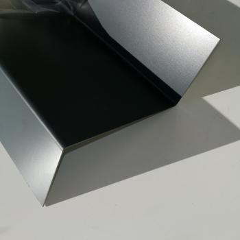 sg designbleche gmbh onlineshop u profil aus stahl verzinkt ral7016 beschichtet 0 75 mm. Black Bedroom Furniture Sets. Home Design Ideas