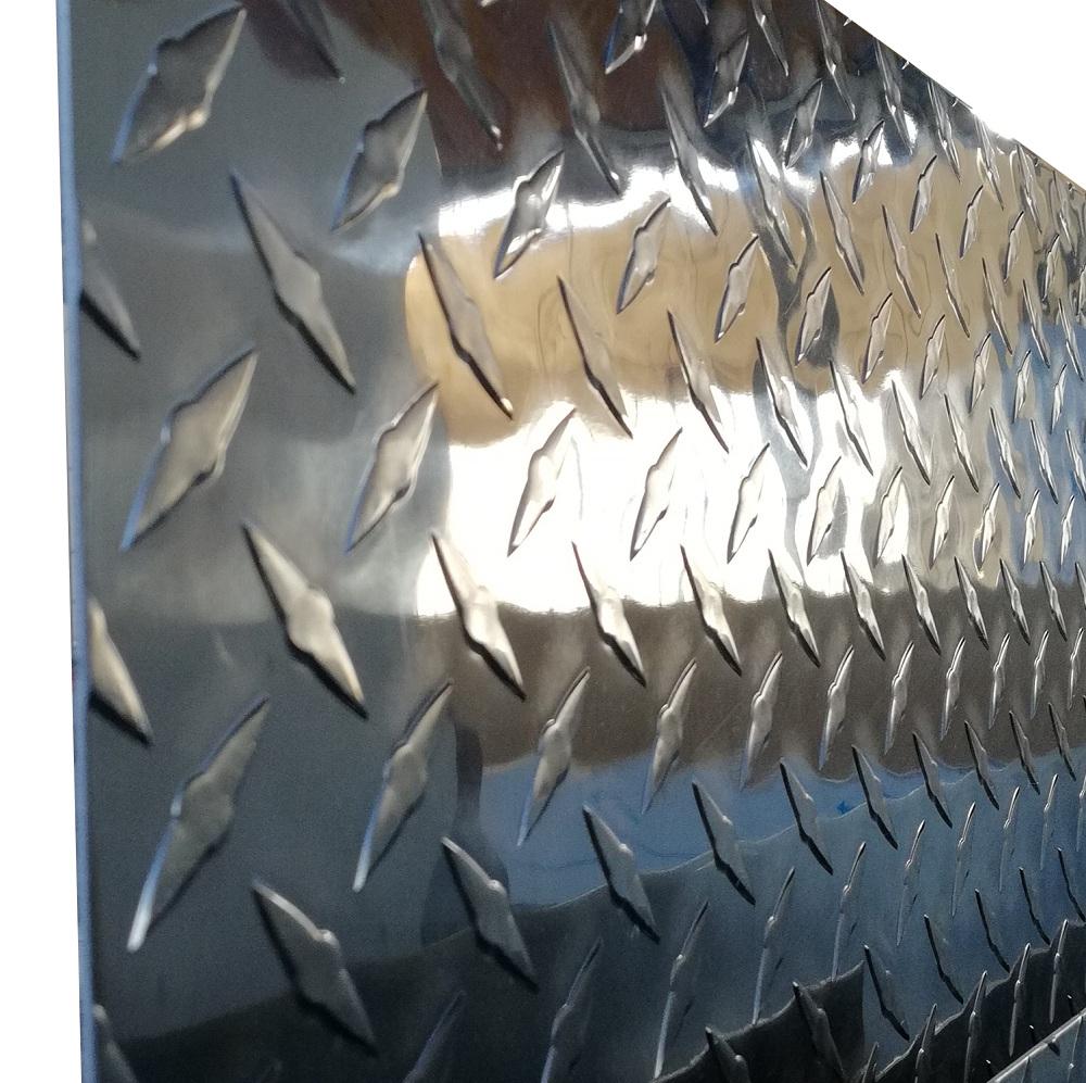Winkel Riffelblech Aluminium Warzenblech 1500mm  1,5//2,0 mm Eckschutz Diamant