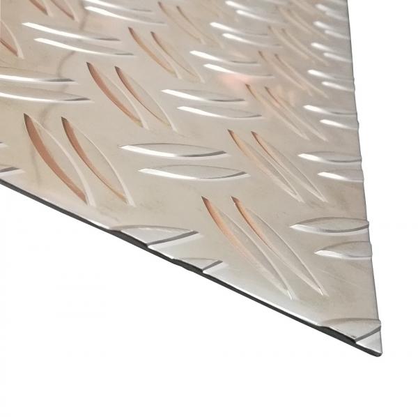 Gr/ö/ße 20 x 25 cm B/&T Metall Aluminium Riffel-Blech Duett 1,5//2,0mm stark 200 x 250 mm Tr/änen-Blech Zuschnitt